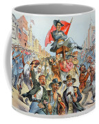 W.j. Bryan Cartoon, 1896 Coffee Mug
