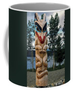 Wolf Clan Totem Pole Coffee Mug