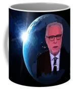Wolf Covers The World Coffee Mug