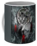 Wolf Dreamcatcher Coffee Mug