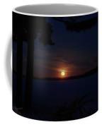 Wolf Moon On The Rise Coffee Mug