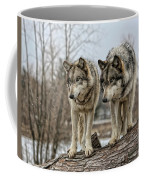 Wolf Pair Coffee Mug