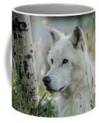Wolf, White Coffee Mug