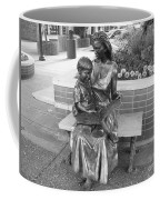 Woman And Child Sculpture Grand Junction Co Coffee Mug