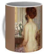 Woman At A Dressing Table Coffee Mug