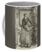 Woman At The Gate Coffee Mug