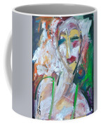 Woman At The Jazz Club Coffee Mug