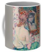 Woman At The Mirror  Coffee Mug
