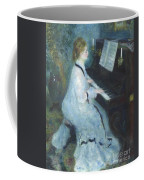 Woman At The Piano Coffee Mug