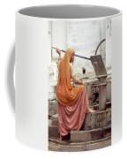 Woman At The Pump Coffee Mug
