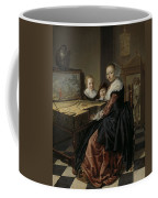 Woman At The Virginal Coffee Mug