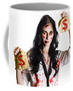Woman Attacked And Robbed Coffee Mug