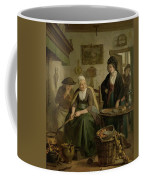 Woman Baking Pancakes Coffee Mug