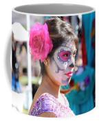 Woman Beautiful Day Of The Dead  Coffee Mug