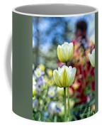 Photographer Behind The Flowers Coffee Mug