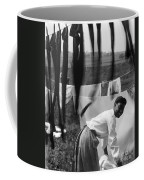 Woman Doing Laundry, C1902 Coffee Mug