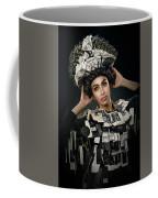 Woman Dressed In Price Tag Coffee Mug