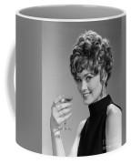 Woman Drinking Champagne, C.1960s Coffee Mug