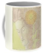 Woman Head  Coffee Mug