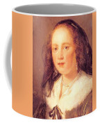 Woman In A Black Veil Coffee Mug