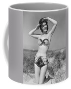 Woman In Bikini, C.1950s Coffee Mug