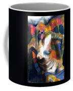Woman In Color Coffee Mug