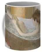 Woman In Her Bath Coffee Mug