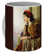 Woman In Love Coffee Mug by Henry Nelson O Neil