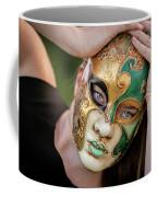 Woman In Mask Coffee Mug
