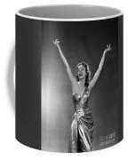 Woman In Metallic Dress, C.1950s Coffee Mug