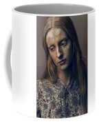 Woman In Painterly Look Coffee Mug