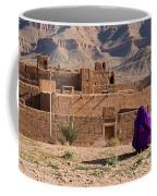 Woman In Purple Coffee Mug