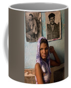 Woman In Purple Havana Cuba Coffee Mug