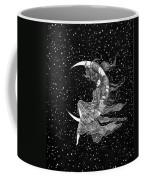 Woman In The Moon Coffee Mug
