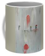 Woman In The Rain Coffee Mug