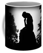 Woman In Thought Coffee Mug