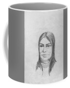 Woman In Turtle Neck Sweater Coffee Mug