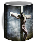 Woman On The Cross I Coffee Mug