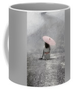 Woman On The Street Coffee Mug