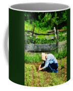 Woman Planting Garden Coffee Mug