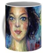 Woman  Portrait 2 Coffee Mug