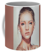 Woman Portrait Coffee Mug