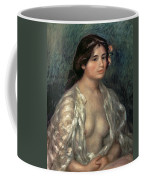 Woman Semi Nude Coffee Mug