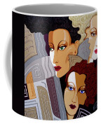 Woman Times Three Coffee Mug