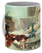 Woman Undressed Coffee Mug