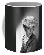 Woman Wearing A Hat & Veil Coffee Mug