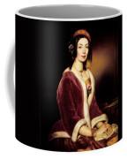 Woman Wearing A Velvet Pelisse  Coffee Mug