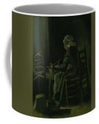 Woman Winding Yarn Nuenen, March 1885 Vincent Van Gogh 1853 - 1890 Coffee Mug