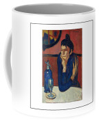 Woman With Coffee Femme Au Cafe Coffee Mug