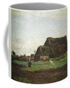 Woman With Goat Coffee Mug